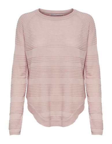 Only Ribbed Long-sleeve Pullover 89977705