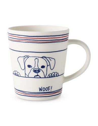 Ed Ellen Degeneres Dog-Print Porcelain Mug 89995758
