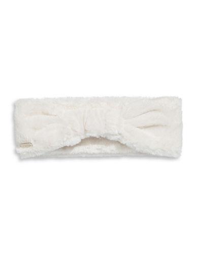 2bc20668f6b CALVIN KLEIN. Calvin Klein Faux Fur Headband-Cream