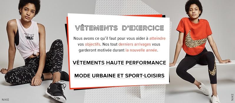 Femme - Vêtements pour femme - Vêtements d exercice - labaie.com 828538a8d77