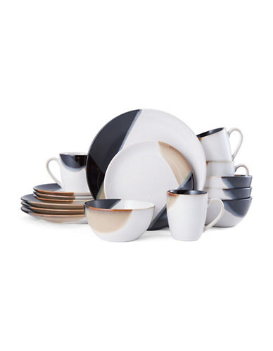 GOURMET BASICS BY MIKASA Caden Reactive Glazed Dinnerware Set  sc 1 st  Hudsonu0027s Bay & Brands | Dining u0026 Entertaining | Caden Reactive Glazed Dinnerware ...