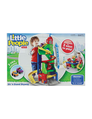 Fisher Price Sit n Stand Skyway-MULTI-One Size