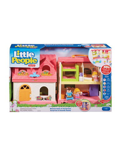Fisher Price Little People Surprise and Sound Home - French Version-MULTI-One Size