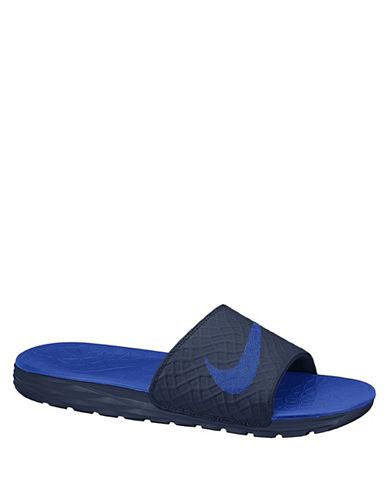 c212b83e0905 Nike  Benassi Solarsoft 2  Slide Sandal (Men) In Navy