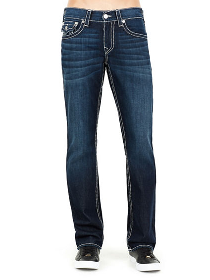 STRAIGHT FLAP NATURAL BIG T MENS JEAN