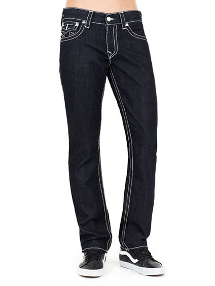 SLIM FLAP NATURAL BIG T MENS JEAN