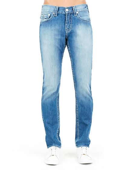 SKINNY FLAP NATURAL BIG T MENS JEAN