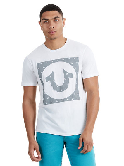 TRUE U BOX CREW NECK MENS TEE