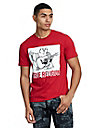 TRUE RELIGION PORTRAIT CREW NECK TEE