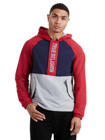 RAGLAN HALF ZIP JACKET