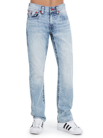 STRAIGHT NATURAL STITCH MENS JEAN