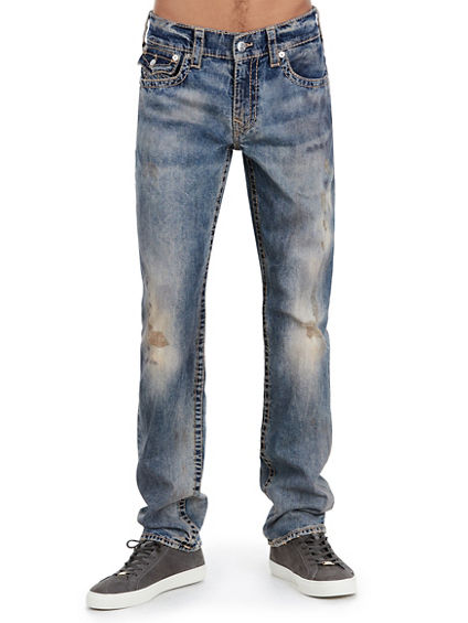 SLIM FIT EARTHWORM BIG T JEAN