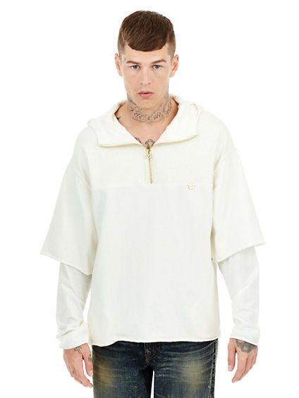 DOUBLE LAYER MENS PULLOVER | Tuggl