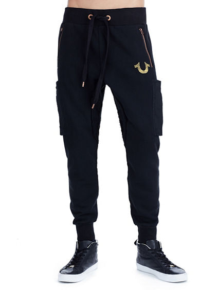 MENS DROP CROTCH SWEATPANT