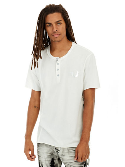 RAW EDGE MENS HENLEY