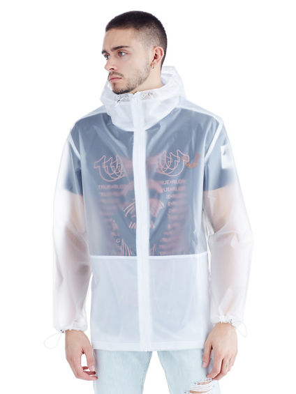 MENS TRANSLUCENT CIRCUIT ANORAK JACKET