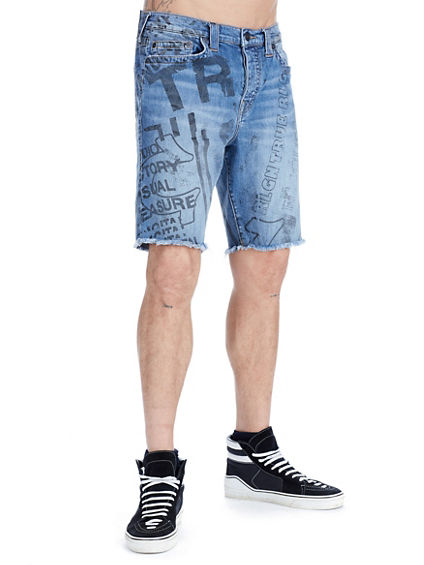 MENS ALL OVER PRINT LOGAN SHORT
