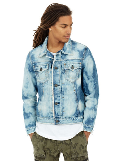 MENS RAW EDGE DYLAN DENIM JACKET