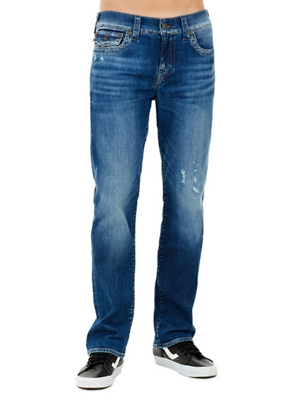 MENS RICKY STRAIGHT JEAN WITH FLAP
