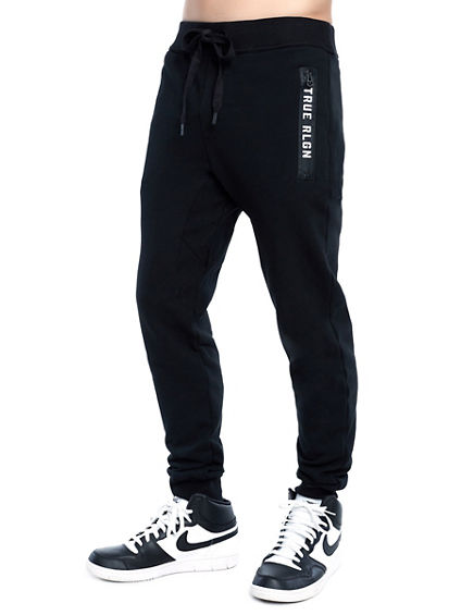 MENS CLASSIC DROP CROTCH SWEATPANT