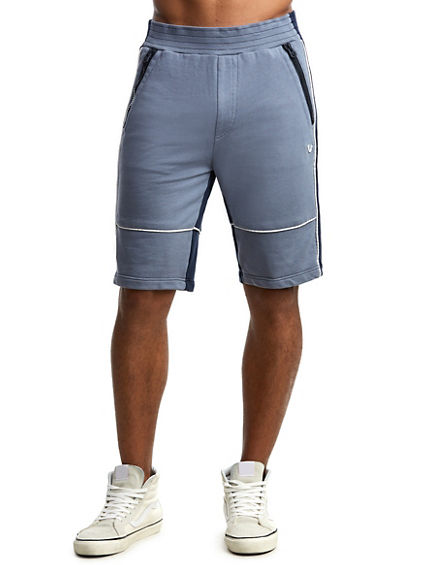 MENS BLOCKED ACTIVE SHORT