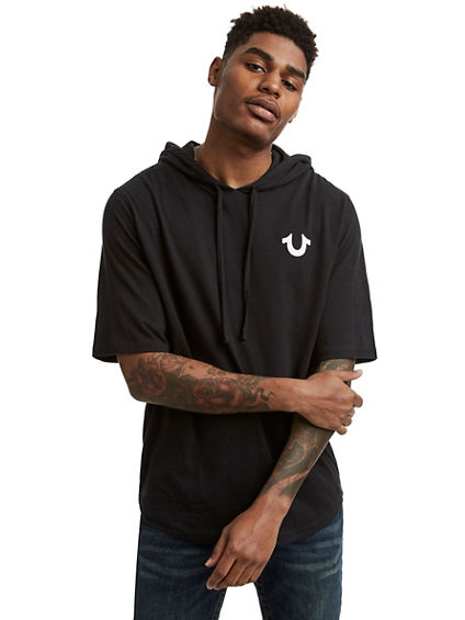 CLASSIC LOGO HOODED PULLOVER