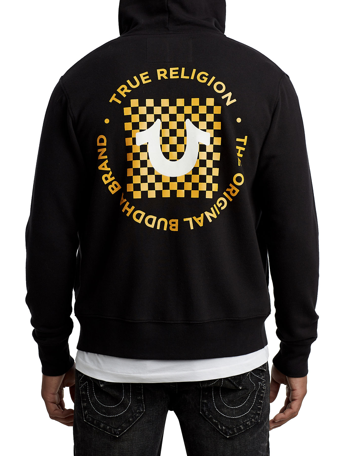24518c91ef3 CHECKERED ACTIVE ZIP UP HOODIE - True Religion