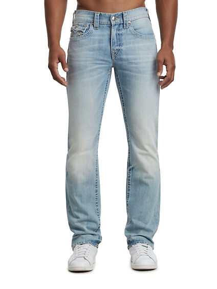 STRAIGHT FIT NATURAL BIG T JEAN