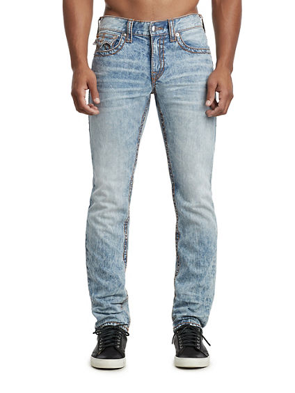 MENS SLIM FIT BIG T JEAN