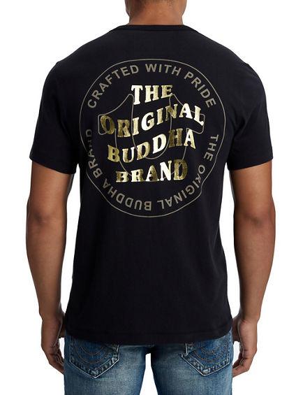 MENS WAVY BUDDHA BRAND TEE