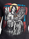 MENS GOTHIC STAINED GLASS GRAPHIC TEE