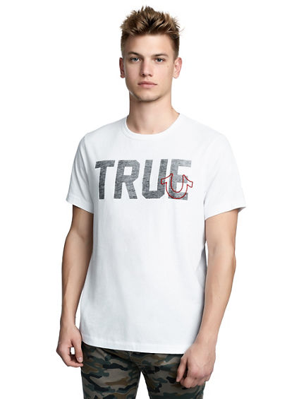 MENS TRUE LOGO GRAPHIC TEE | Tuggl