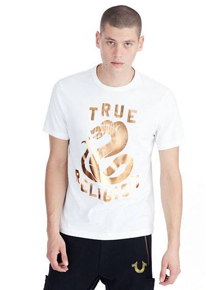 COPPER FOIL SNAKE MENS TEE
