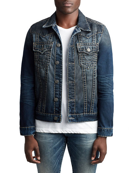 MENS SUPER T WESTERN JIMMY DENIM JACKET
