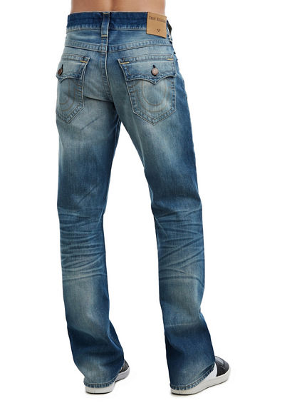 MENS BILLY BOOTCUT JEAN W/ FLAP