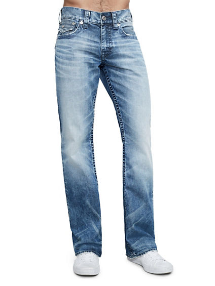 BOOTCUT FIT INDIGO STITCH JEAN