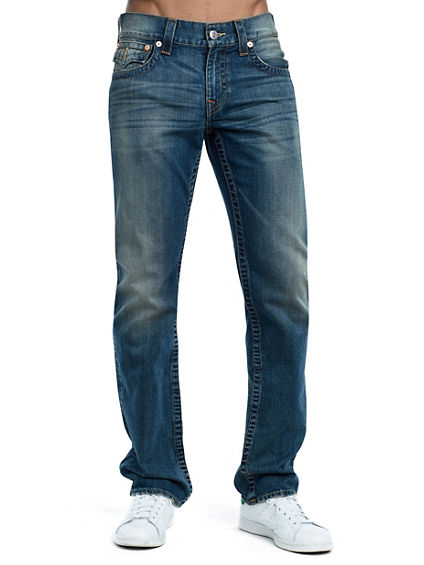 STRAIGHT FIT MULTI STITCH JEAN