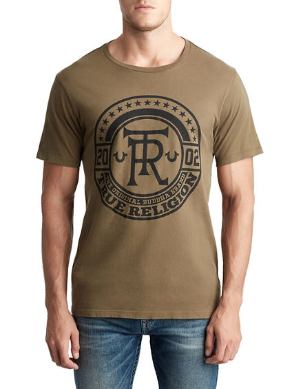 MENS TRUE CREST GRAPHIC TEE