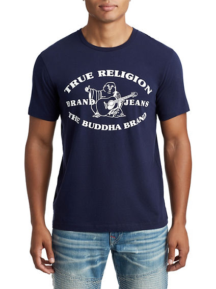 MENS HERITAGE BUDDHA GRAPHIC TEE