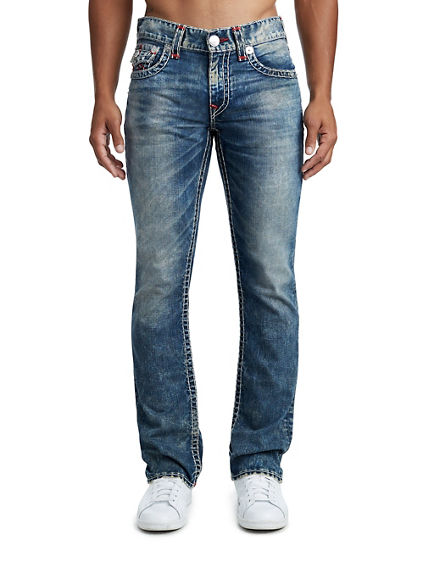 MENS SUPER T STRAIGHT JEAN W/ FLAP