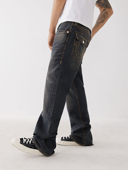 MENS BIG T BOOTCUT JEAN W/ FLAP