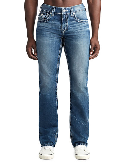 MENS BIG T SHADOW STRAIGHT JEAN W/ FLAP