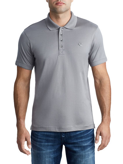 MENS MERCERIZED COTTON POLO SHIRT