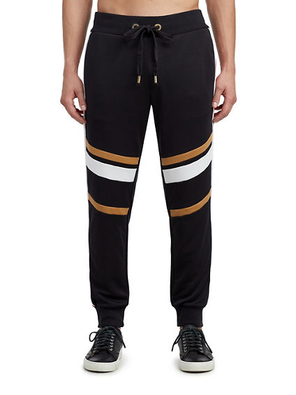 MENS METALLIC FLEECE SWEATPANT
