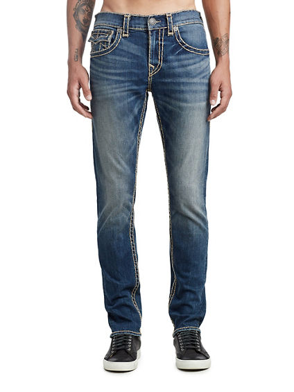 MENS MULTI SUPER T SKINNY JEAN W/ FLAP