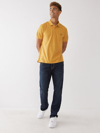 MENS BIG T STRAIGHT JEAN W/ FLAP