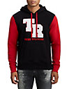 MENS CHENILLE PATCH PULLOVER HOODIE