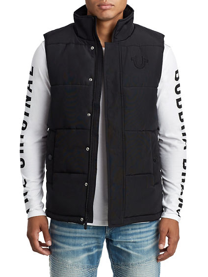 MENS QUILTED VEST