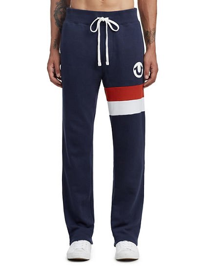 MENS TWO TONE PANEL SWEATPANT