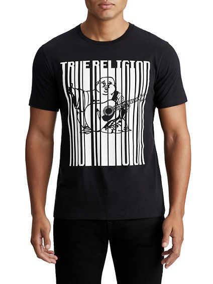 MENS STRETCHED BUDDHA GRAPHIC TEE